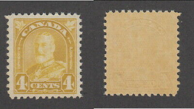 MNH Canada 4 Cent KGV Arch Stamp #168 (Lot #16598)