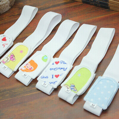 6Pcs Adjustable Baby Diaper Fastener Nappy Fixed Belt Infant Cloth Holder Well