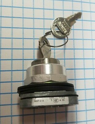 800T-E15A 30Mm Cylinder Lock Push Button 800T Pb