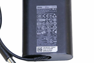 Genuine OEM DELL 19.5V 3.34A 65W PA-12 Laptop Power Supply AC Adapter Cord 6TFFF