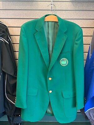 42L Golf Augusta Green Master's Jacket Augusta National Replica SEWN ON PATCH