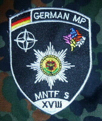 Feldjäger KFOR Patch MNTF-S Prizren MP # Military Police # Militärpolizei