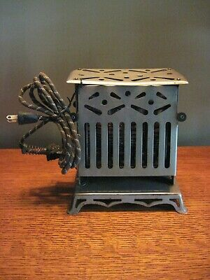 Antique Toaster - Rutenber Electric Co - patented July 26, 1914