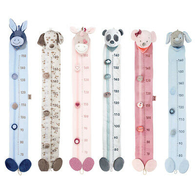 Nattou - Baby & Toddler Plush Growth Chart - Various Characters - Washable
