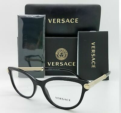 Eyeglasses Versace VE 3270 Q 5300 TOP BROWN//TRANSPARENT