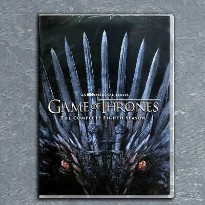 Game of Thrones: Complete Season 8 DVD  Free  USPS First Class US Seller