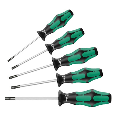 Wera 367/5 Kraftform Plus TORX® Screwdriver Set 5 Piece 05345220001