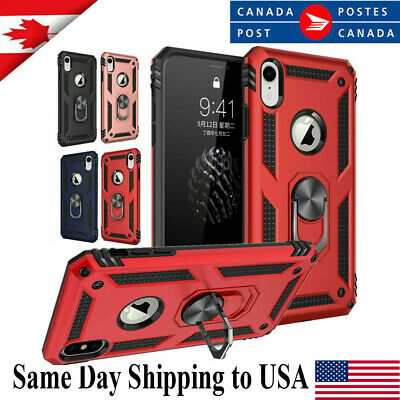 For iPhone 11 Pro XS Max XR 7 8 Plus Shockproof Magnetic Heavy Duty Case Cover