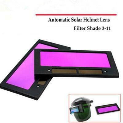 AU/Solar Panel Auto Darkening Welding Helmet Mask Lens Filter Shade Part 3/11