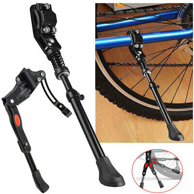 "16/"" BIKE KICKSTAND REAR AXLE MOUNT LOWRIDER BMX MTB BEACH CRUISER BIKES CYCLIN"