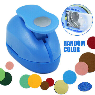 Small Circle Round Paper Craft 9mm Hole Punch Tool Kids DIY Scrapbook Cutter CR