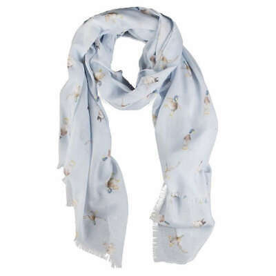 Wrendale Designs A Waddle and A Quack Duck Scarf - Blue
