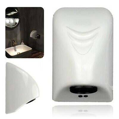 Hand Dryer Wall Mounted Electric Automatic Fast Warm Air Drier Toilet White -AU