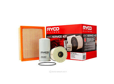 Oil Air Fuel Filter Service Kit Ryco RSK6 for