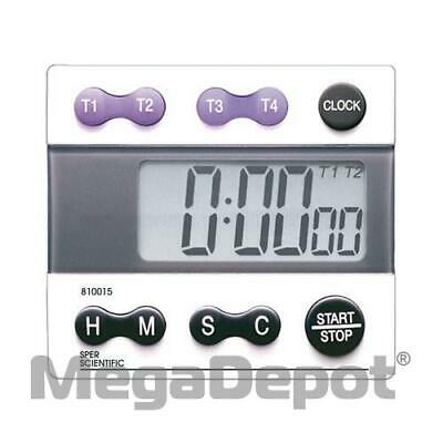 Sper Scientific 810015, 5 Channel Timer with Clock