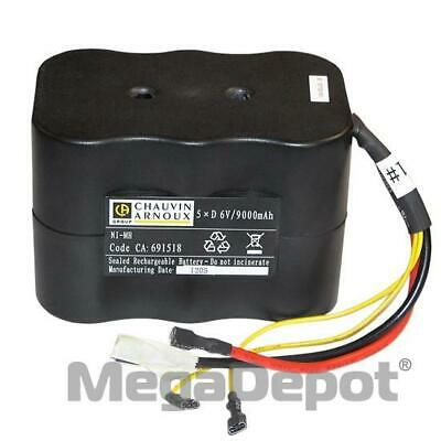 AEMC 2129.91, 6.5V 8.5AH Replacement Battery for Models 6240 & 6250