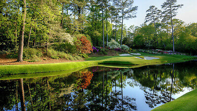 4 MASTERS Augusta 2020 Ticket WEDNESDAY 4/8 Badge Full Day IN HAND