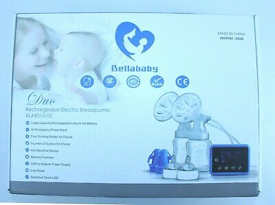 Bellababy BLA8015-02 Duo Rechargeable Electric Breastpump New Opened Box