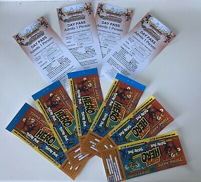 1 x Wheelgate Theme Park Admission Ticket (Have 10 Available) Valid Til 31/03/20