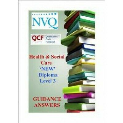 NVQ/QCF Level 3 Diploma Health And Social Care