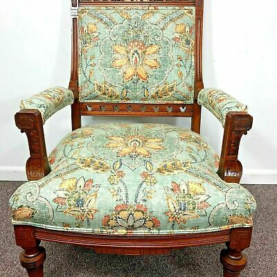Fine 19th Century Eastlake Armchair