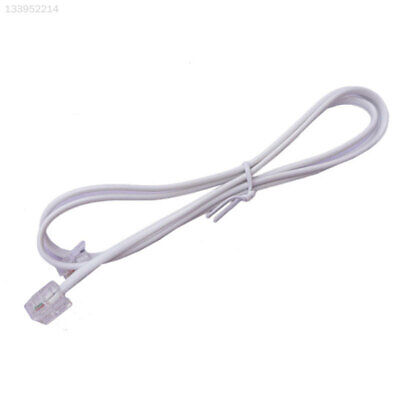 White Broadband Telephone Line Internet Home & Living Phone Cable Lead Router