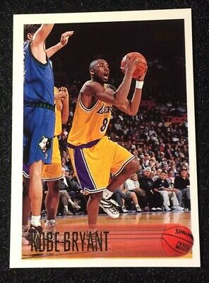 1996-97 Kobe Bryant Rc Topps #138 Rookie Card Lakers Black Mamba 🔥🔥