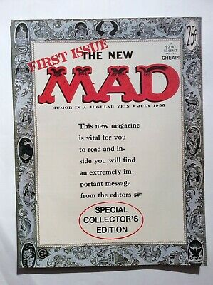 The New Mad - First Issue - Australian Edition reprinting early US work 1988