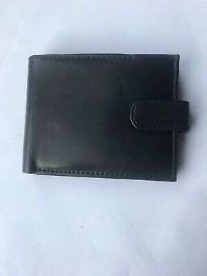 GENUINE Soft Luxury Leather Real Mens wallet Credit Card ID Holder GIFT BOXED