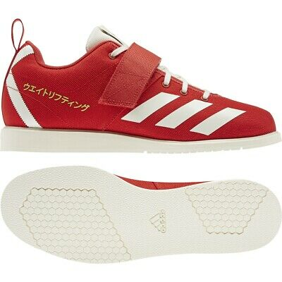 Mens Adidas Powerlift 4 Red Weightlifting Athletic Sport Shoe EG5175 Size 8-12