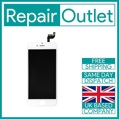 Apple iPhone 6S White LCD Touch Screen Digitizer Display Replacement OEM IC