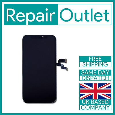 iPhone XS OLED LCD Touch Screen Display Assembly Replacement - Black