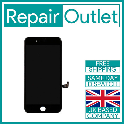 Apple iPhone 7 Plus Black LCD Touch Screen Digitizer Replacement 3D Touch