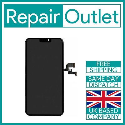 iPhone X LCD Touch Screen Assembly Replacement MBL - Black New UK Stock