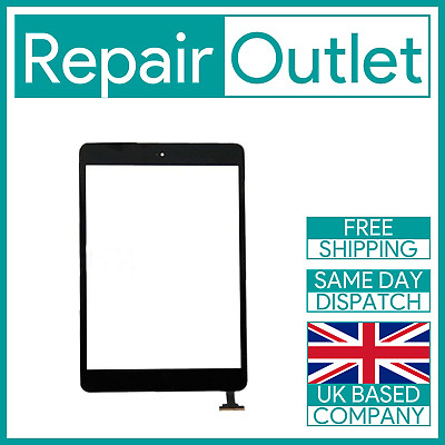 OEM iPad Mini 1 / Mini 2 Black Screen Replacement Digitizer with IC Home Button