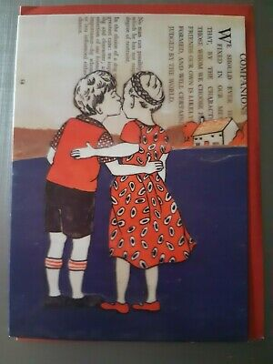 Ann Winder-Boyle Every Day Any Occasion Card With Red Envelope - U.k Seller