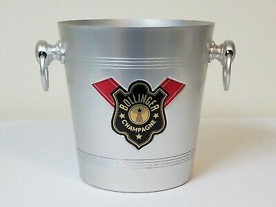 Wine Cooler BOLLINGER CHAMP 1872 TROPHY FOR WINNERS ONLY ICE BUCKET Planter