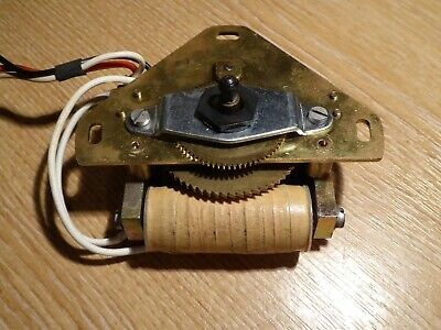 Simplex ?? impulse slave clock mechanism movement 1 minute 24V with sync wire