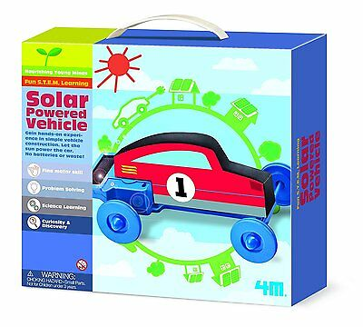 Car to Energy Solar - Solar-Powered Vehicle 4M Games Educational Ideas Gift