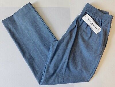 Women's Pants; Alfred Dunner; Size 6P; Chambray; NWT