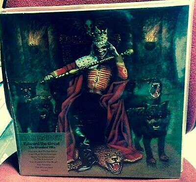 Iron Maiden – Edward The Great -2 VINYL LP PICTURE D. 0724354310317-SEALED MINT