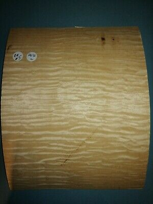 Consecutive Sheets Of Quilted Maple  Veneer 24 X 32 Cm Qm#5 Marquetry