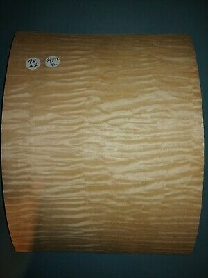 Consecutive Sheets Of Quilted Maple  Veneer 24 X 32 Cm Qm#7 Marquetry
