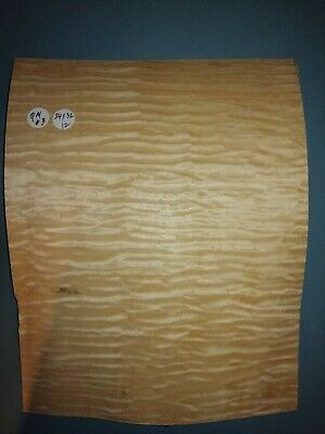 Consecutive Sheets Of Quilted Maple  Veneer 24 X 32 Cm Qm#3 Marquetry