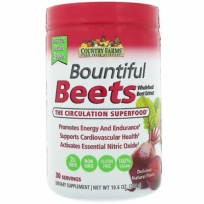 Bountiful Beets, The Circulation Superfood - Country Farms