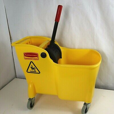 Rubbermaid Mop Bucket And Wrnger 31qt.