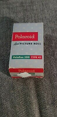 Polaroid PolaPan 200 Land Picture Film Roll 8 B&W Type 42 Sealed Exp. 9/1958