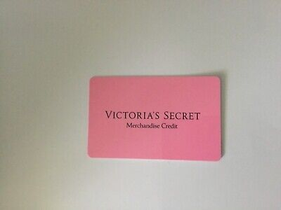 Victoria's Secret Merchandise Credit, Gift Card - $180 #H247 *
