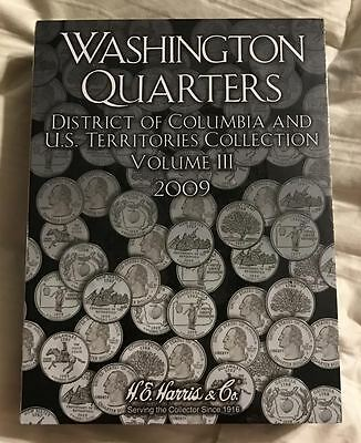 State Quarter P & D - 3 Folder Set (1999-2009) W/ D.c. & Territories **New**  #8