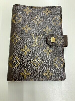 Louis Vuitton Monogram Agenda PM Day Planner Cover R20106